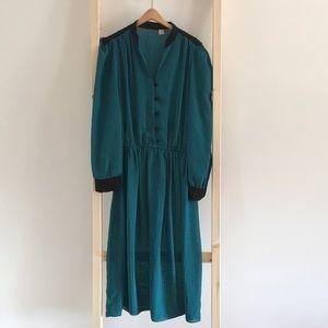 Vintage 80's Era Dress